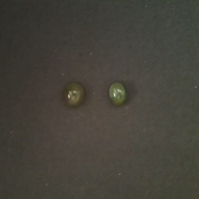 Aventurine Semiprecious Gem Stones (2 pcs available)