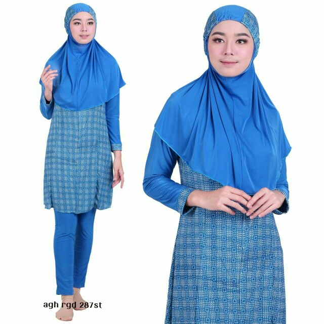 Baju Renang Muslimah Aghnisan, Sports, Athletic & Sports Clothing on Carousell