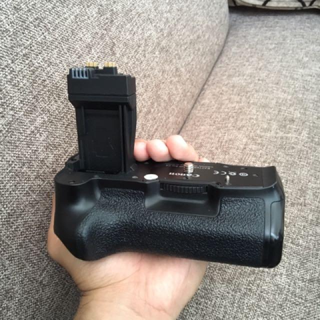 Battery gif canon/baterai