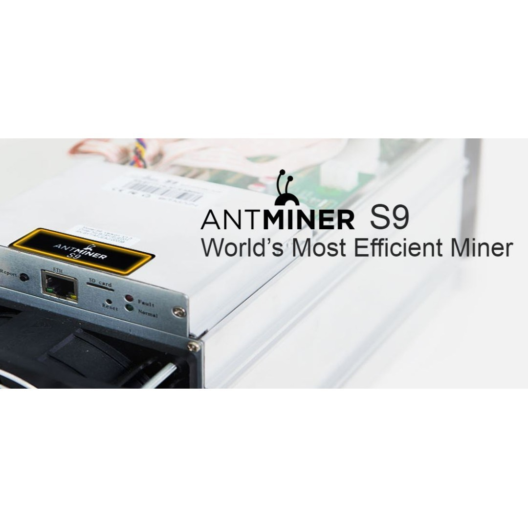 Antminer S9 Bitcoin Miner 13.5//14 TH//s Parts Only