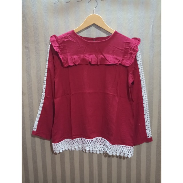 Blouse renda import