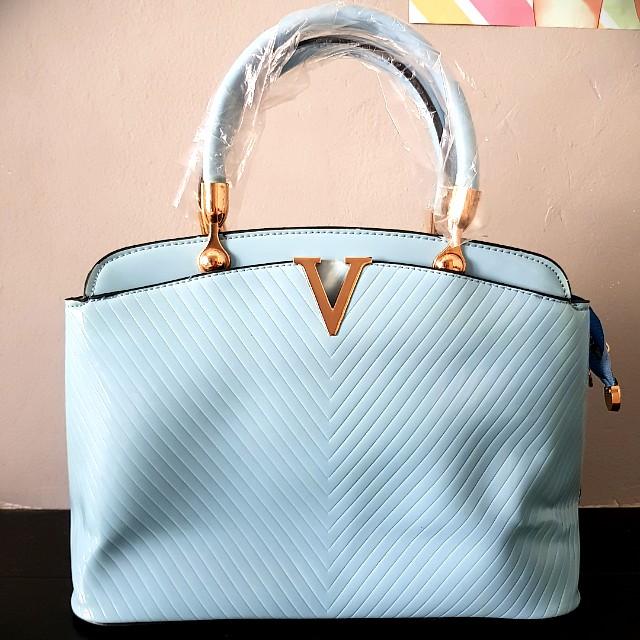 Blue women's bag
