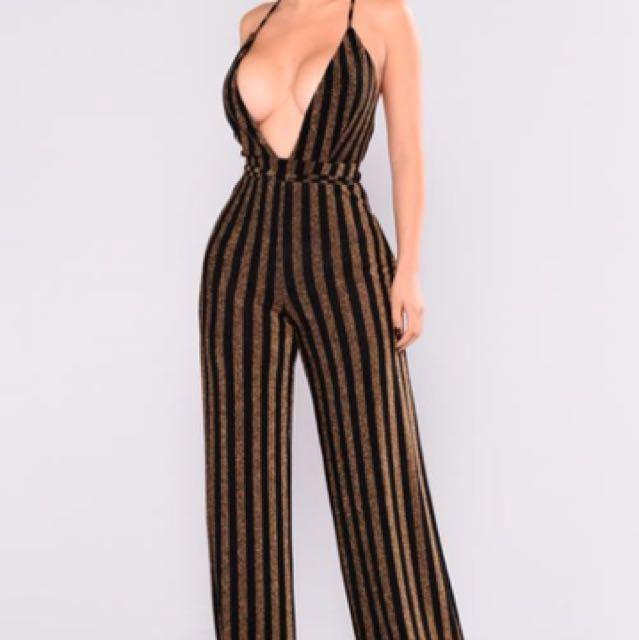 BNWT Fashion Nova jumpsuit