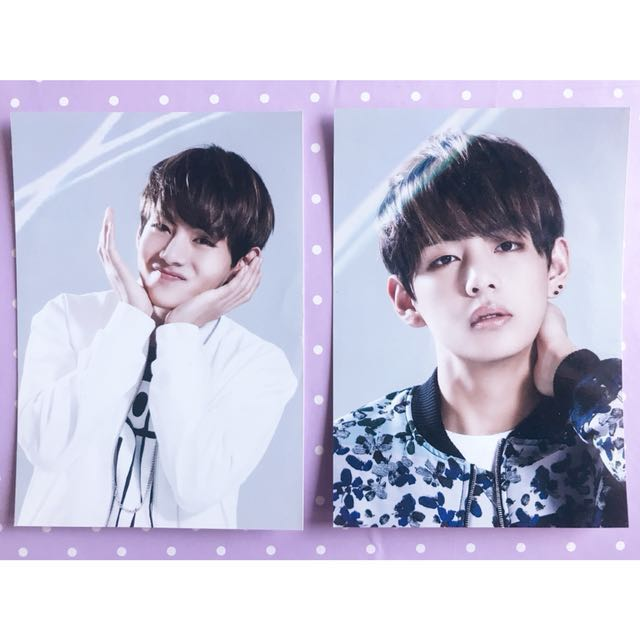 BTS 'For You' Japan Fan Meet V Photocard
