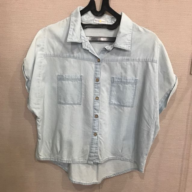 Cache Jeans Top