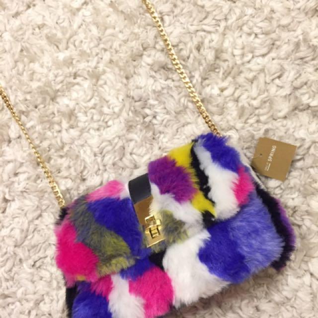 Call it spring fur bag