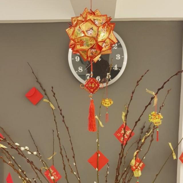 Chinese New Year Hong Bao Lantern