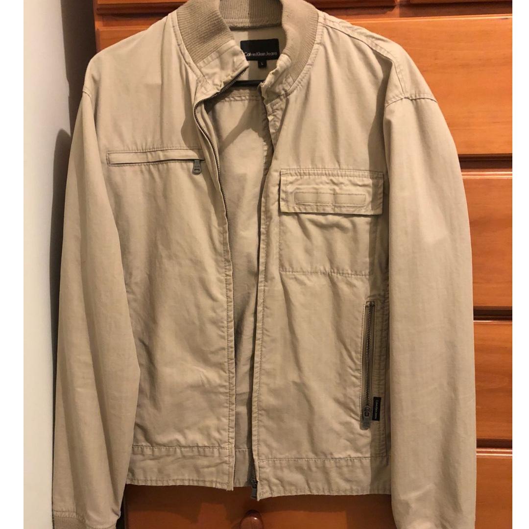 CK Tan jacket