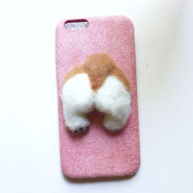 Corgi butt phone case