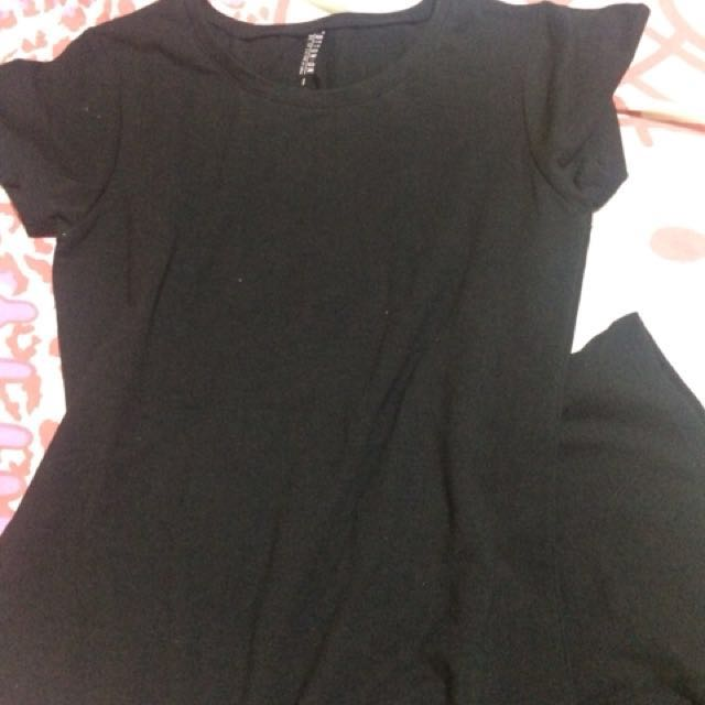 Cotton On dress black
