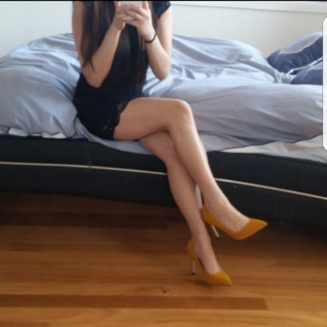 Dress + heels