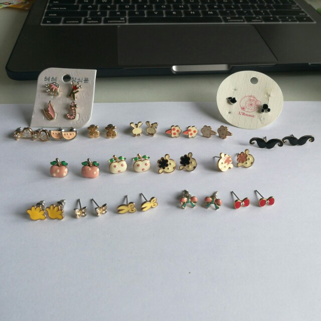 Earrings $3/ea