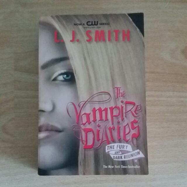 [Ed Bhs Inggris] Vampire Diaries The Fury And Dark Reunion