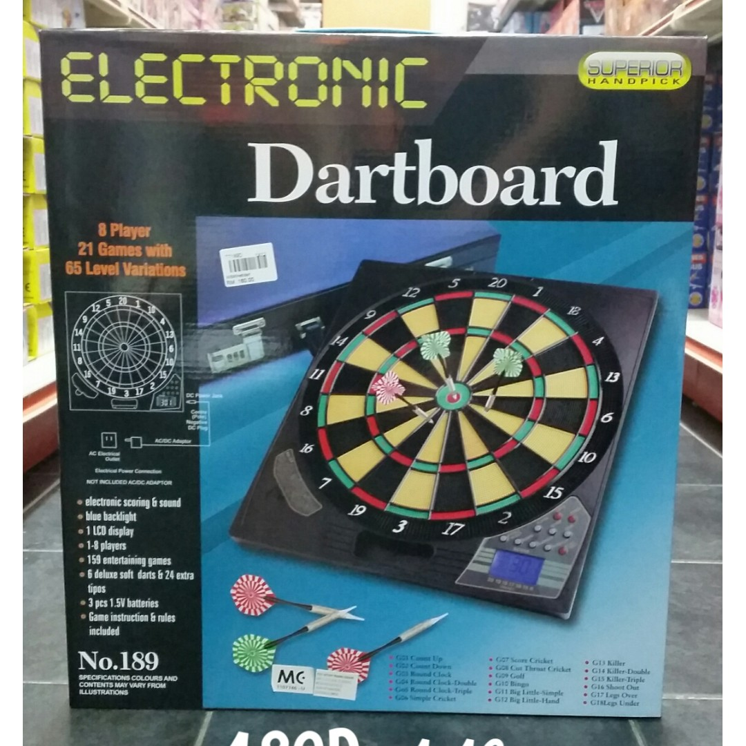 Electronic Dartboard No 189 Toys Games Other Toys On Carousell