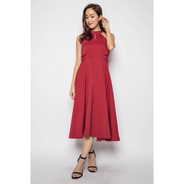 f1c19f5b209b Erin halter midi dress on Carousell