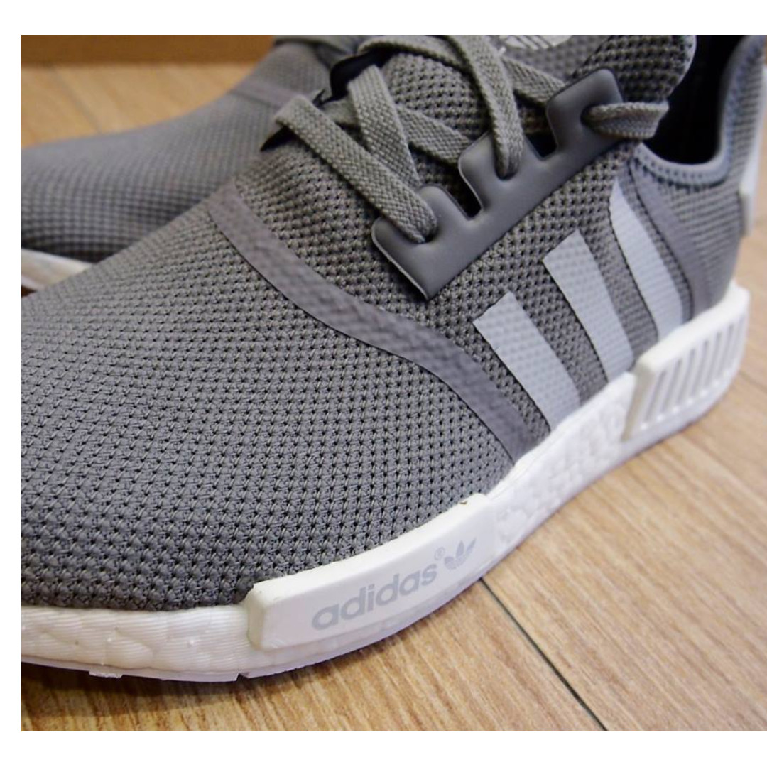 912ee5684 ... sale low cost adidas nmd r1 charchoal grey women sneakers shoes womens  fashion shoes on carousell