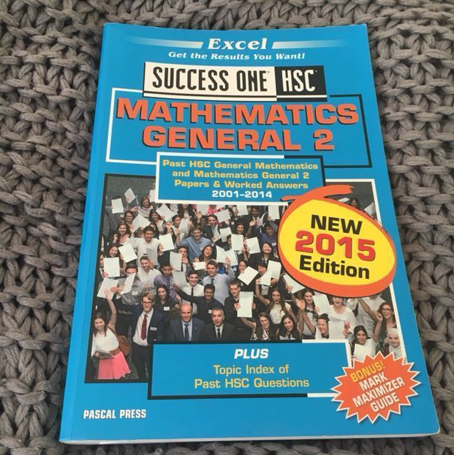 Excel Success One HSC General Mathematics 2