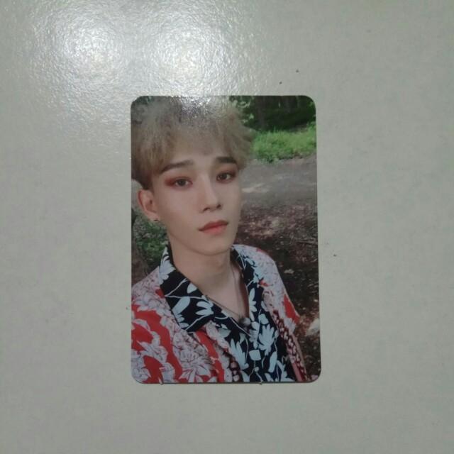 EXO Chen The War Official Photocard Korean Version