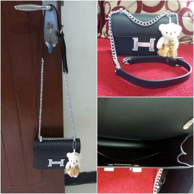 Fashion sling bag (jelly)