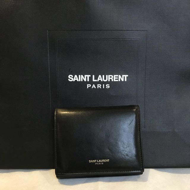 [Final Week!] Saint Laurent Black Wallet Authentic
