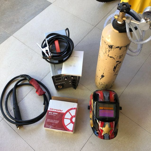 Full Set MIG Welding Machine 200amp 60 Duty Cycle Everything