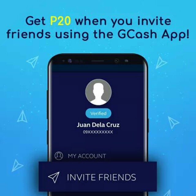 GCASH every refer GET 20P, Tickets/Vouchers, Gift Cards