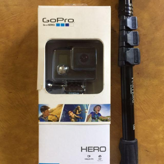 GoPro Hero 1 (barely used)