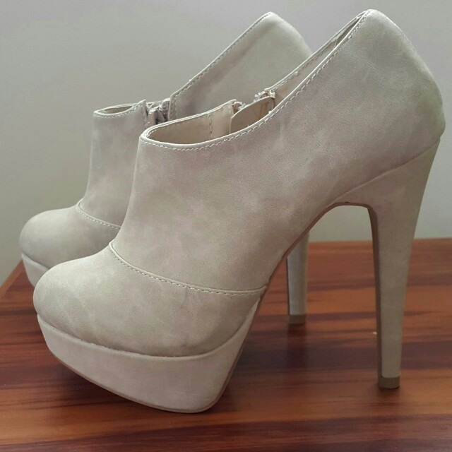 High Heel Boots Size 5