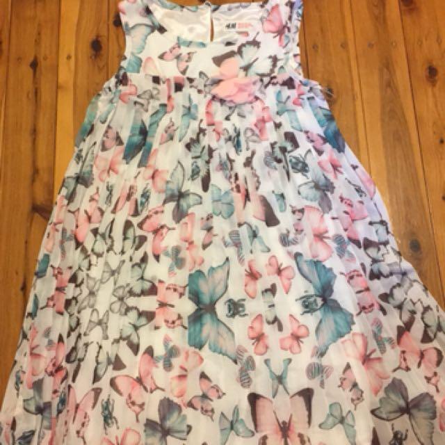 H&M girl dress size 5-6
