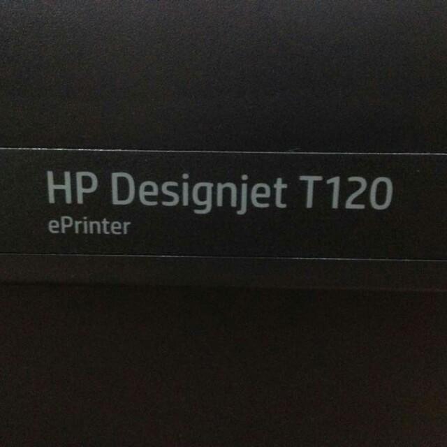 HP DESIGN JET T120