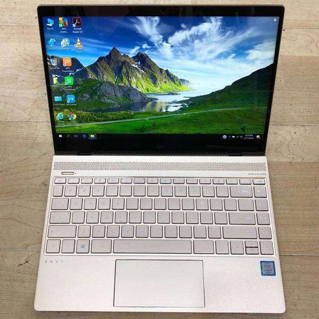 HP Envy 13 Ultrabook Core I7-7500u  512gb SSD 2 Years Warranty !!