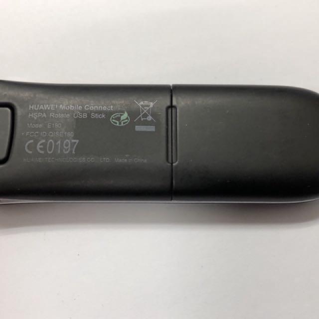 Huawei E180 HSPA mobile broadband