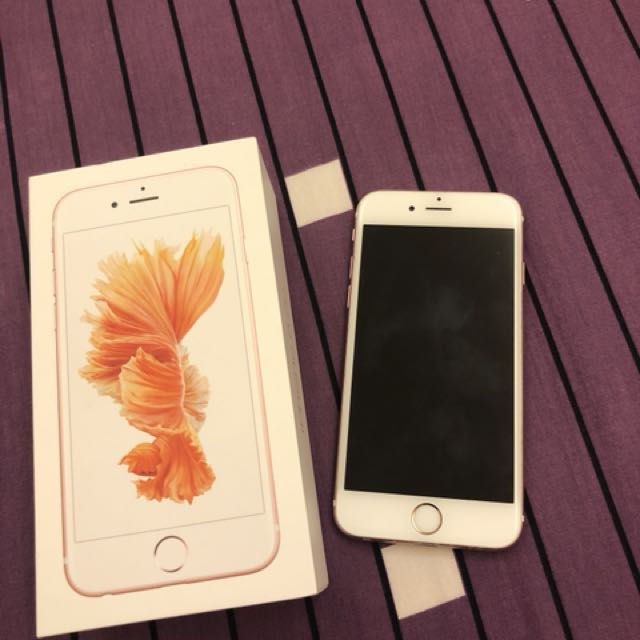 Iphone6s 64g玫瑰金 可議