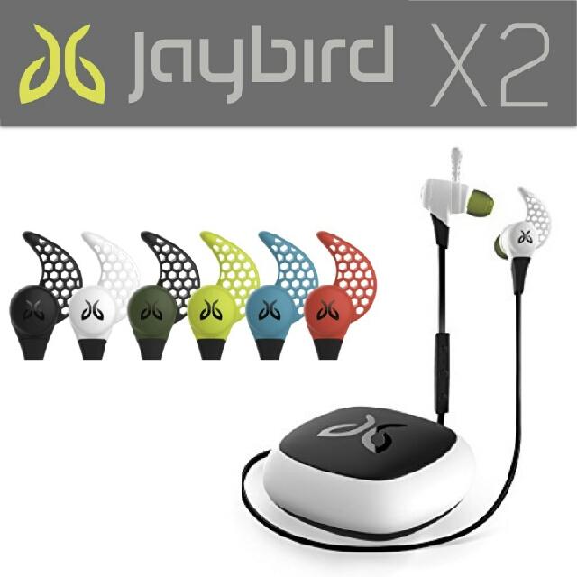 (免運)JAYBIRD X2 頂級藍牙音質 極限防汗運動耳機
