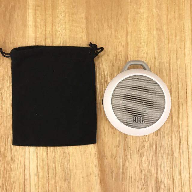 白色JBL Micro II揚聲器 喇叭 攜帶型
