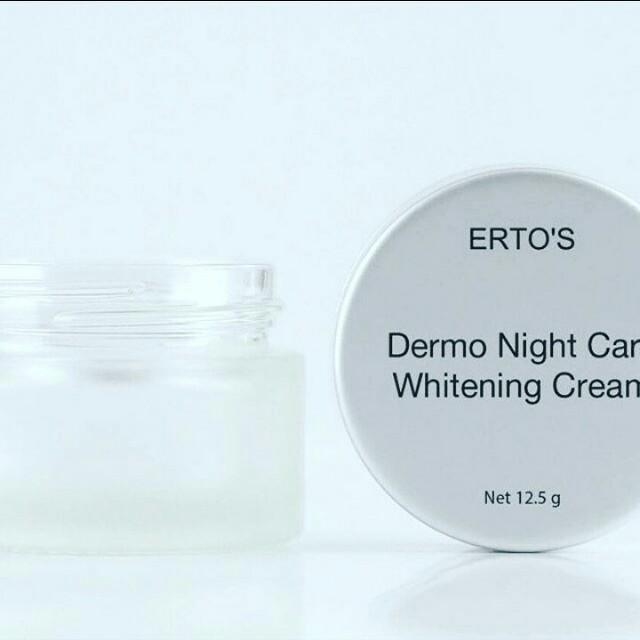 Krim wajah malam hari dari ertos 70K, sudah BPOM 100% original 😍😍😍, Health & Beauty, Makeup on Carousell