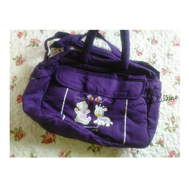 Kuma Kuma Diaper Bag