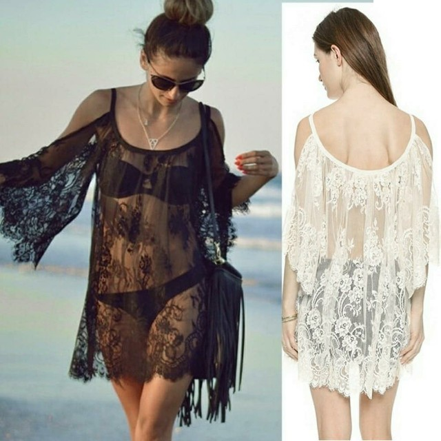 Lace Swimsuit Cover Ups