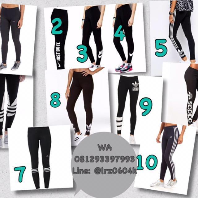 Legging Adidas & Nike