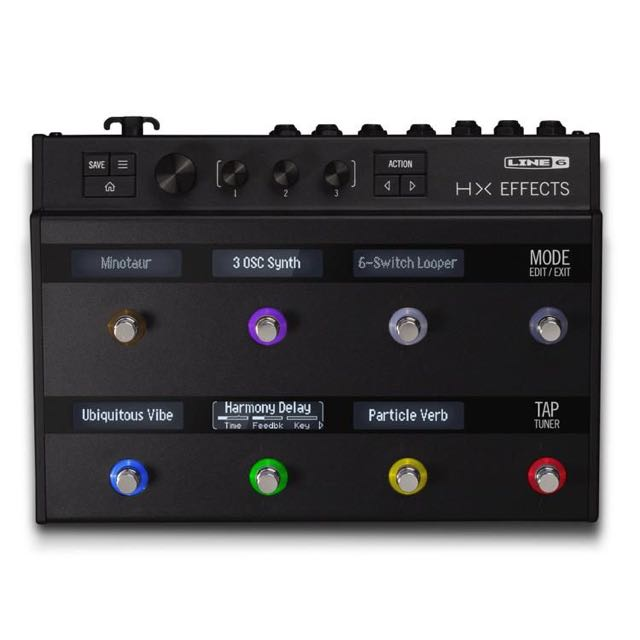 Line 6 HX FX Guitar Multi Effects Floor Processor