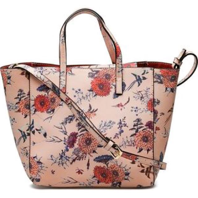 LOVELY PRINTED SAFIANO- EFFECT BAG