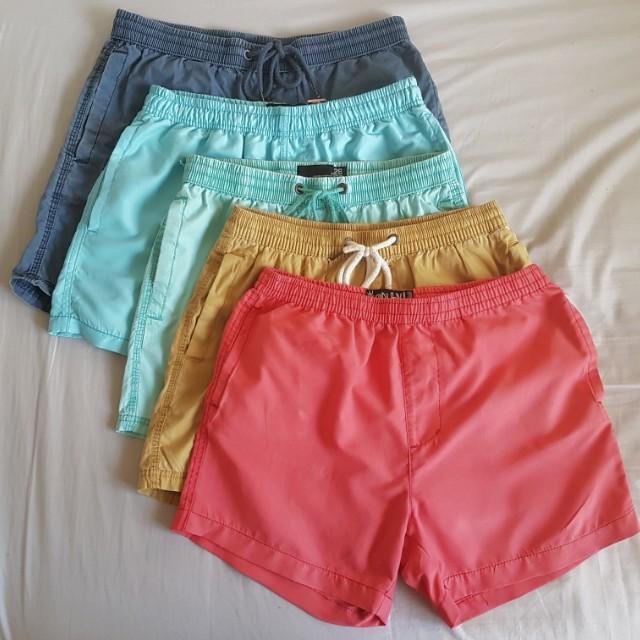 Men's Swim Shorts x5 - Cotton On, Factorie