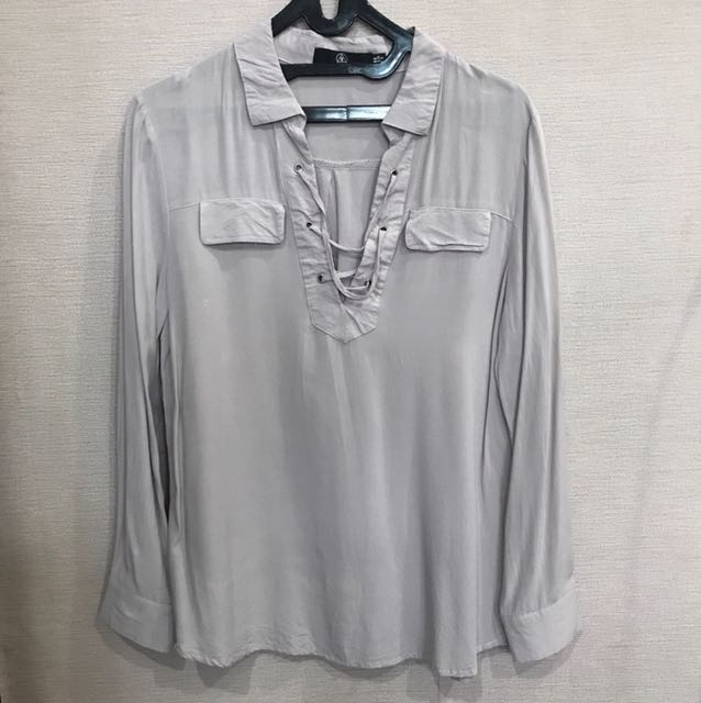 Missguided Purple Shirt size S