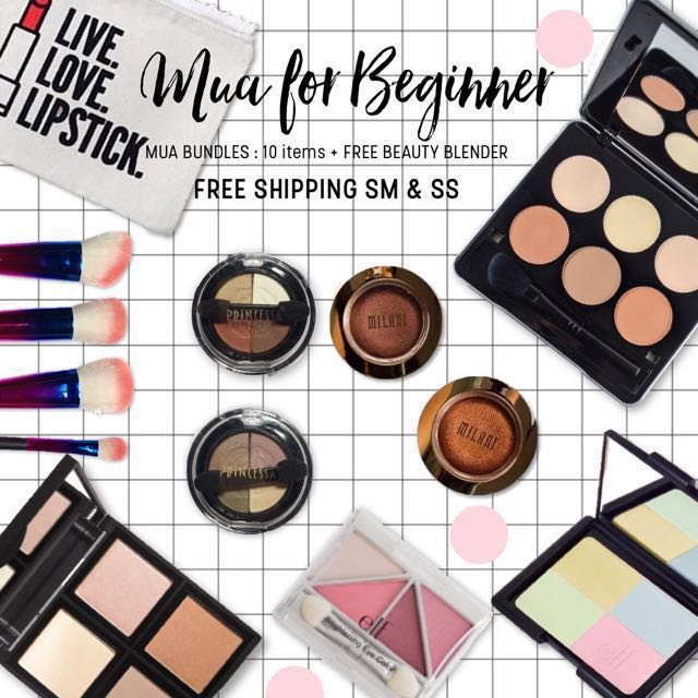 MUA FOR BEGINNER | 10 items 🌟🎁