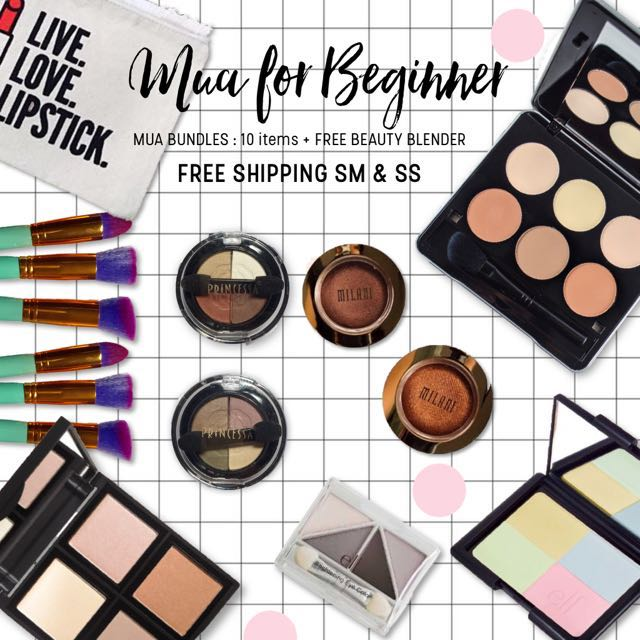 MUA FOR BEGINNER | 10 Items 🎁🌟
