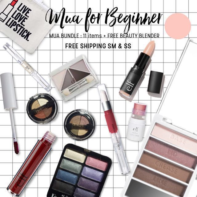 MUA FOR BEGINNER | 11 items 🎁