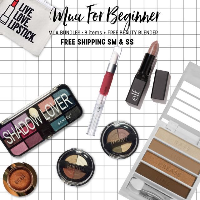 MUA FOR BEGINNER | 8 items 🎁🌟