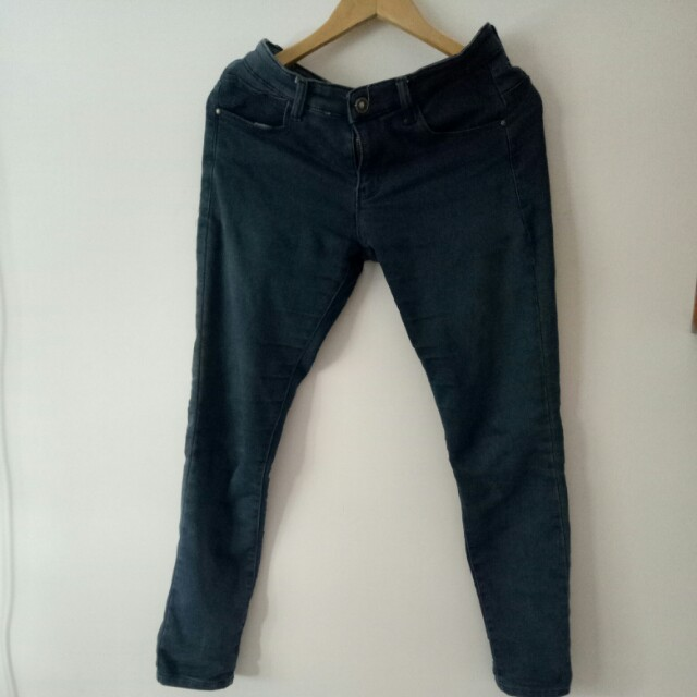 NEVADA Black-Washed Skinny Jeans
