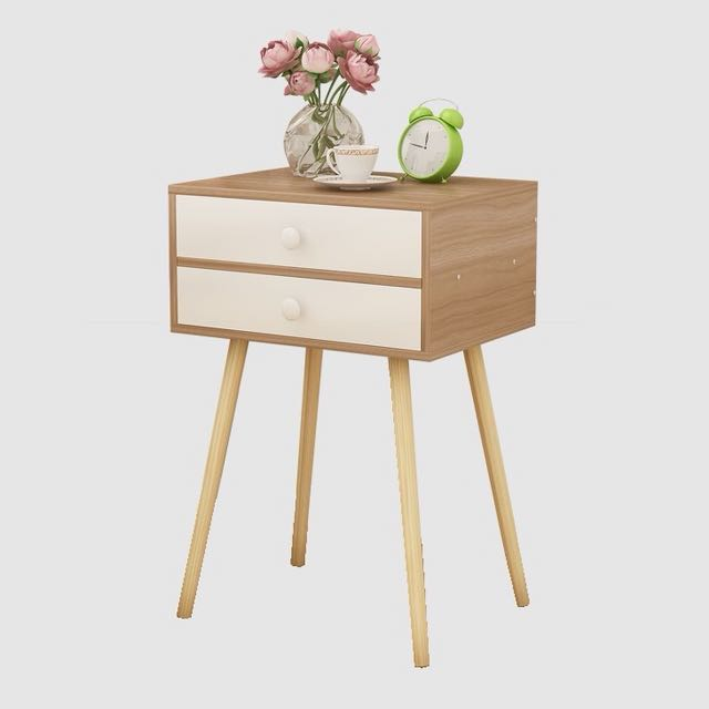 NEW 2-Tier Bedside Table