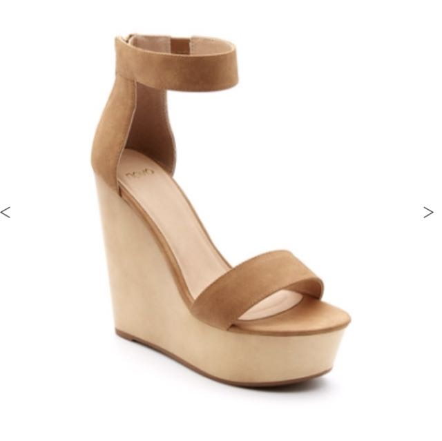 NOVO TAN / CAMEL WEDGES